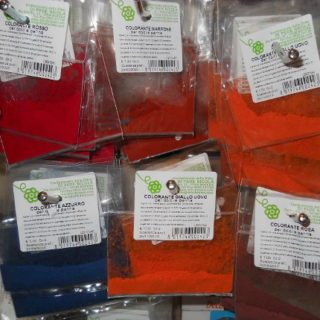 Coloranti in polvere